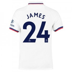 Chelsea Away Stadium Shirt 2019-20 with James 24 printing