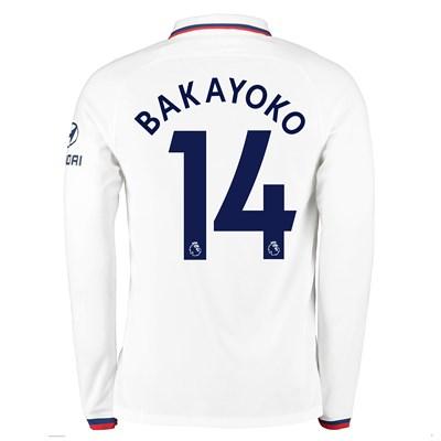 Chelsea Away Stadium Shirt 2019-20 - Long Sleeve with Bakayoko  14 printing