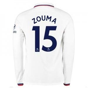 Chelsea Away Stadium Shirt 2019-20 - Long Sleeve with Zouma  15 printing