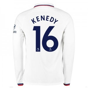 Chelsea Away Stadium Shirt 2019-20 - Long Sleeve with Kenedy 16 printing