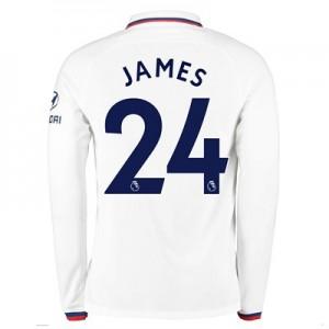 Chelsea Away Stadium Shirt 2019-20 - Long Sleeve with James 24 printing