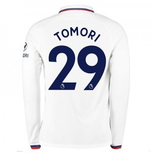 Chelsea Away Stadium Shirt 2019-20 - Long Sleeve with Tomori 29 printing