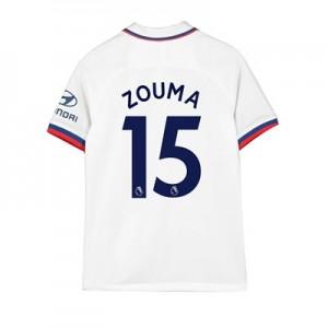Chelsea Away Stadium Shirt 2019-20 – Kids with Zouma  15 printing
