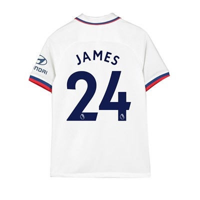 Chelsea Away Stadium Shirt 2019-20 - Kids with James 24 printing