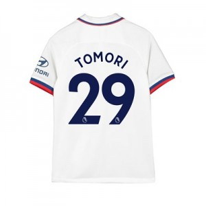 Chelsea Away Stadium Shirt 2019-20 - Kids with Tomori 29 printing