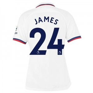 Chelsea Away Stadium Shirt 2019-20 - Womens with James 24 printing