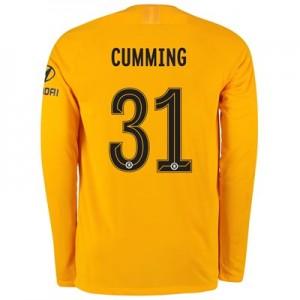 Chelsea Home Cup Stadium Goalkeeper Shirt 2019-20 - Long Sleeve with Cumming 31 printing