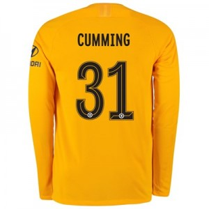 Chelsea Home Cup Stadium Goalkeeper Shirt 2019-20 – Long Sleeve – Kids with Cumming 31 printing