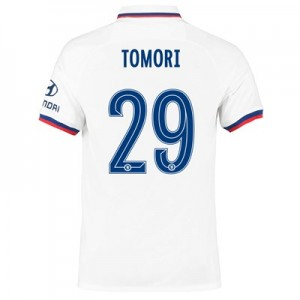 Chelsea Away Cup Stadium Shirt 2019-20 with Tomori 29 printing