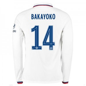 Chelsea Away Cup Stadium Shirt 2019-20 – Long Sleeve with Bakayoko  14 printing