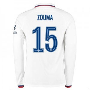 Chelsea Away Cup Stadium Shirt 2019-20 - Long Sleeve with Zouma  15 printing