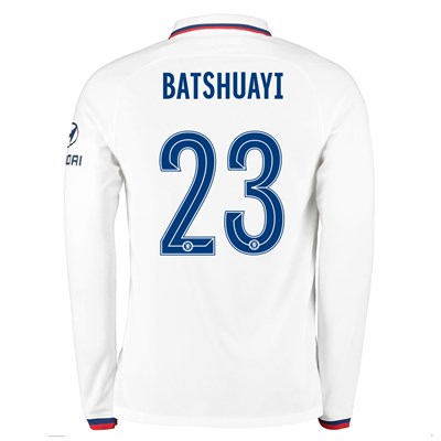 Chelsea Away Cup Stadium Shirt 2019-20 - Long Sleeve with Batshuayi  23 printing