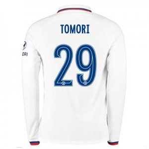 Chelsea Away Cup Stadium Shirt 2019-20 - Long Sleeve with Tomori 29 printing