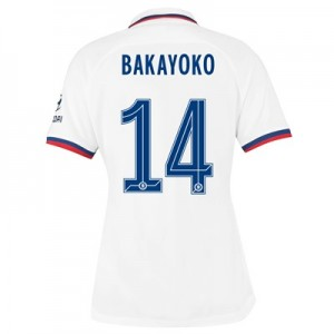 Chelsea Away Cup Stadium Shirt 2019-20 – Womens with Bakayoko  14 printing
