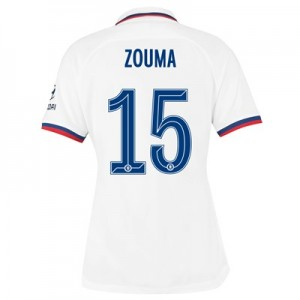 Chelsea Away Cup Stadium Shirt 2019-20 – Womens with Zouma  15 printing