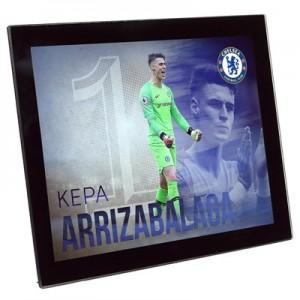 Chelsea Kepa Arrizabalaga Glass Frame 8x6