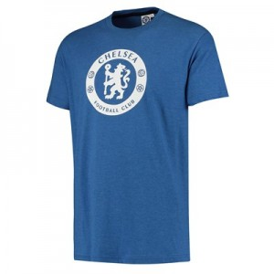 Chelsea High Build Crest T-Shirt – Blue – Mens