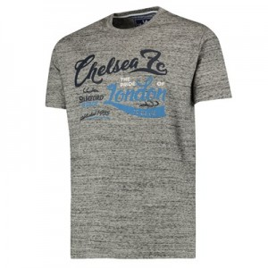 Chelsea Graphic T-Shirt - Grey Marl - Mens