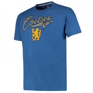 Chelsea Graphic T-Shirt - Blue - Mens