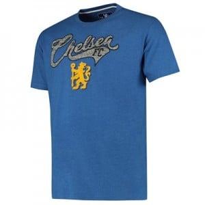 Chelsea Graphic T-Shirt - Blue - Mens