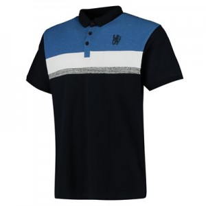 Chelsea Heritage Cut and Sew Polo - Blue - Mens