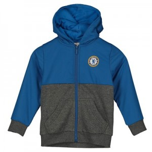 Chelsea Woven Overlay Hoody - Blue - Infant