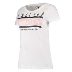 Chelsea Graphic T-Shirt – White – Womens