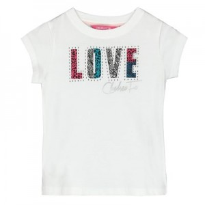 Chelsea Graphic Tee - White - Infant