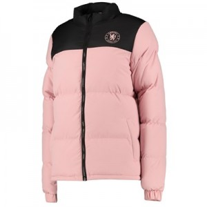 Chelsea Soft Touch Puffer Jacket – Pink – Womens