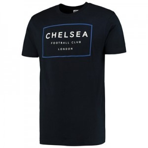 Chelsea Graphic Printed Tee - Navy - Mens