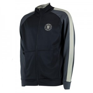 Chelsea Panel Detail Tracksuit Top - Navy - Mens