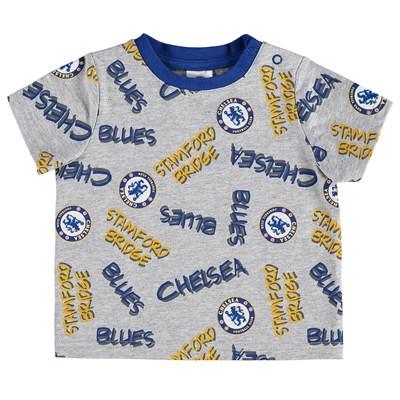 Chelsea Printed T-Shirt - Grey Marl - Baby