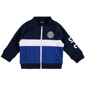 Chelsea Zip Through Track Top - Blue - Baby