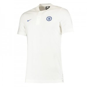 Chelsea Authentic Grand Slam Polo - White
