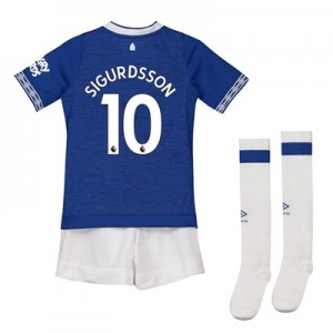 Everton Home Baby Kit 2018-19 with Sigurdsson 10 printing