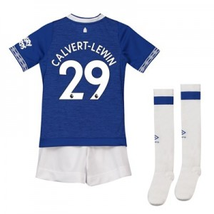 Everton Home Baby Kit 2018-19 with Calvert-Lewin 29 printing