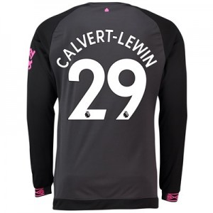 Everton Away Shirt 2018-19 – Long Sleeve with Calvert-Lewin 29 printing