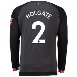 Everton Away Shirt 2018-19 - Long Sleeve with Holgate 2 printing