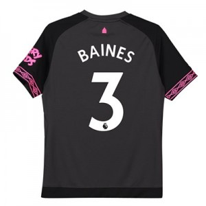 Everton Away Shirt 2018-19 – Kids with Baines 3 printing
