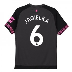 Everton Away Shirt 2018-19 - Kids with Jagielka 6 printing