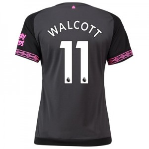 Everton Away Shirt 2018-19 – Womens with Walcott 11 printing
