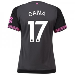 Everton Away Shirt 2018-19 - Womens with Gana 17 printing