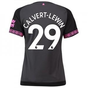 Everton Away Shirt 2018-19 - Womens with Calvert-Lewin 29 printing