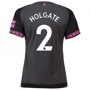 Everton Away Shirt 2018-19 - Womens with Holgate 2 printing