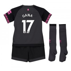 Everton Away Baby Kit 2018-19 with Gana 17 printing