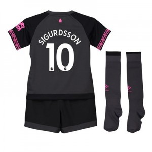 Everton Away Baby Kit 2018-19 with Sigurdsson 10 printing