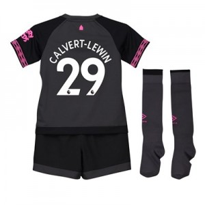 Everton Away Baby Kit 2018-19 with Calvert-Lewin 29 printing