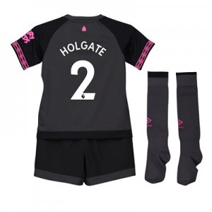 Everton Away Baby Kit 2018-19 with Holgate 2 printing