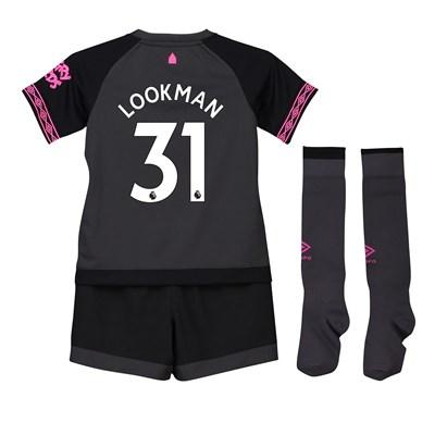 Everton Away Baby Kit 2018-19 with Lookman 31 printing
