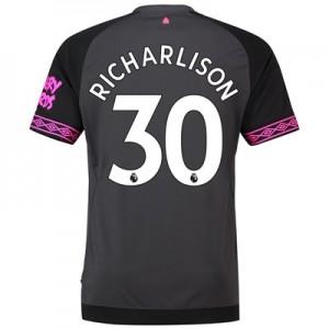 Everton Away Shirt 2018-19 with Richarlison 30 printing